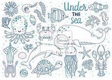 unterwassertiere malvorlagen u zeichnen und f 228 rben
