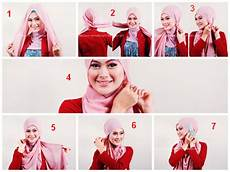 Cara Memakai Jilbab Segi Empat Sederhana Simple Cara