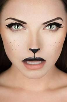 katze schminken erwachsene fasching schminken den karneval look vollenden