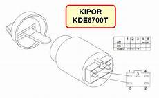 kipor kde6700t auto start automatic generator control modules