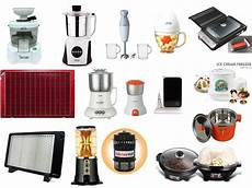 Kitchen Electronics List by Electrical Home Appliances Trenchpress