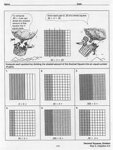 decimal square worksheets 7298 division decimal squares