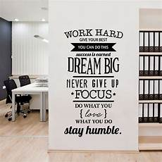 inspirational wall sticker quotes aliexpress buy office motivational quotes wall