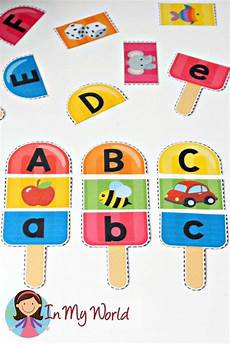 free printable popsicle alphabet and beginner sounds