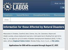 disaster unemployment assistance california