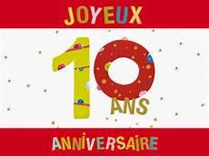 carte anniversaire 10 ans carte anniversaire de mariage 10 ans a imprimer