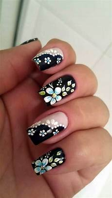 101 cute flower nail designs that re too attractive to