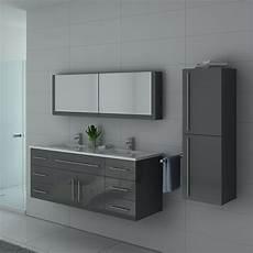 meuble sous vasque gris pour salle de bain meuble sous