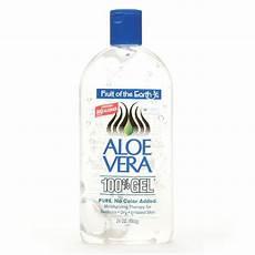fruit of the earth aloe vera 100 gel clear