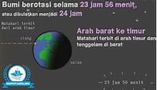 Pengertian Rotasi Bumi