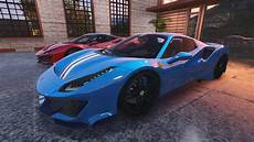 488 pista spider 2019 488 pista spider add on animated roof template gta5 mods