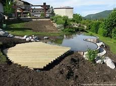 comment faire un bassin exterieur terrasse bois bassin recherche jardin
