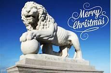 merry christmas lion photograph by gipson