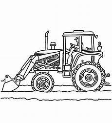 Ausmalbilder Bagger Traktor Trekker Kleurplaat Fendt Ausmalbilder Kostenlos Bagger 6