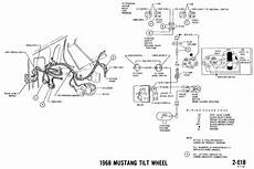 Dash Wiring Diagram For 1968 Mustang by 1968 Mustang Wiring Diagrams Evolving Software