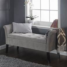 shabby chic storage seat bench furniture bedroom vintage ottoman wooden legs ebay