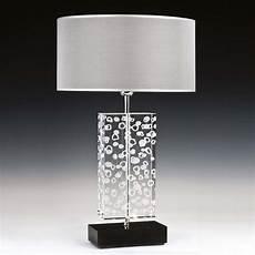tischleuchten modern tischleuchten aus glas und kristall