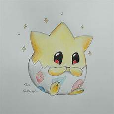 togepi drawing by chillacrylic coole sachen