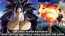 new goku ssj8 strongest form new skills moveset aura evil dragon ball xenoverse 2