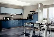 cuisine bleue d 233 coration moderne avec des touches en bleu