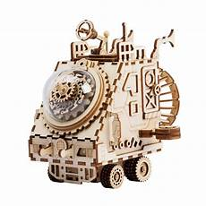 Newest Wooden Puzzle Assembly Gift Children by Aliexpress Buy Robotime Creative Diy 3d Space
