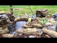 Steingarten Mit Teich - stunning garden waterfalls ponds rock formations