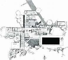 kaufmann house floor plan richard neutra kaufmann desert house palm springs 1946