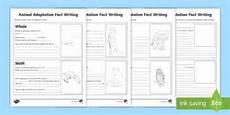 animals around us worksheet for grade 3 14405 animal adaptation fact writing activities made