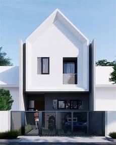 12 Model Rumah Minimalis 2 Lantai Tak Depan Terbaru