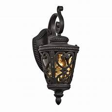 allen roth grandura 63 in h black iron medium base e 26 outdoor wall light at lowes com