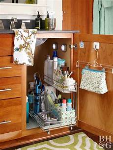 Bathroom Cabinet Organizer 15 ways to organize bathroom cabinets better homes gardens