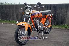 Modifikasi Cb 100 by Modifikasi Honda Cb 100 Th 1976 Banjarnegara Si Tua