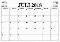Kalender 2018 Juli - kalender juli 2018 juli 2018 2019 2019 kalender zum