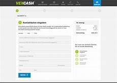express kredit in 4 stunden vexcash erfahrungen test informationen preise