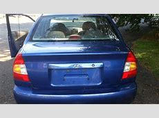 2001 Blue Hyundai Accent   Used Cars Brewster   YouTube