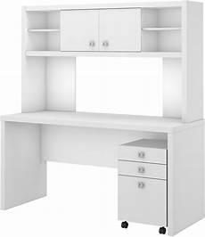 credenza desk with hutch echo white credenza desk with hutch and mobile file