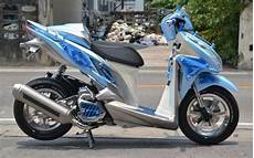 Modifikasi Motor Matic Vario by 2019 Modifikasi Motor Matic Paling Keren Terbaru Di Indonesia