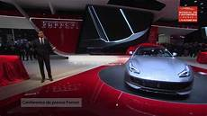 conf 233 rence de presse mondial de l automobile
