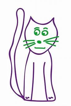 Malvorlage Katzenkopf Einfach Katzen Malen Leicht Gemacht Ideen F 252 R Kinder Und