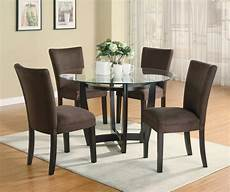 stylish 5 pc dinette dining table parsons dining room furniture chairs set ebay