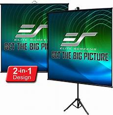 Bakeey Wall Mounted Large Screen Portable by Elite Screens Tripod Lite Wall Series 2 In 1 Portable