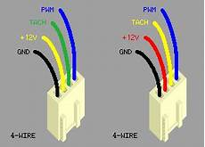 12v computer fan wire diagram pins is the pwm rail of a 4pin pwm computer fan positive or negative electrical engineering