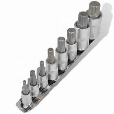 vidaxl co uk 12 point bit set socket wrench set 8 pcs on
