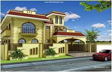 3d front elevation com pakistan 1 kanal 10 marla plan 3d front elevation of house beautiful