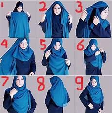 Cara Memakai Jilbab Segi Empat Cantik Dan Trendy