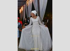 Maryam Augie & Abdulmumin Jibrin's Outdoor Abuja Wedding
