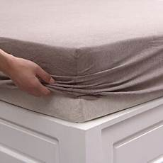 pure era jersey knit cotton fitted bottom sheet only with no flat sheet pillow cases deep