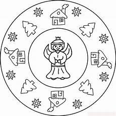 Malvorlagen Weihnachten Mandala Ausmalbilder Weihnachten Mandala Malvorlagentv