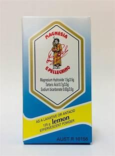 magnésie san pellegrino djp magnesia s pellegrino lemon powder 125g ebay