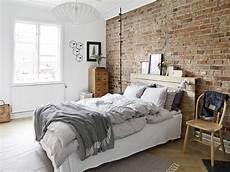 Backstein Tapete Schlafzimmer - bedroom designs